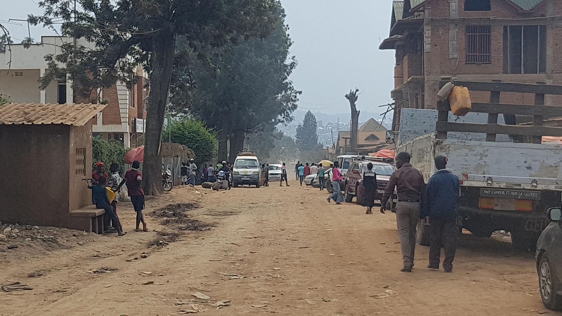 Bidonville de Panzi